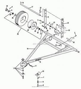 Bunton  Bobcat  Ryan 544856 All Tote Trailer Parts Diagram