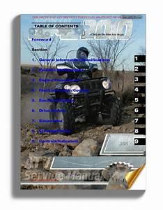 Arctic Cat 2010 366 Service Manual
