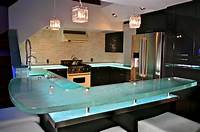 glass counter tops 10 Most Popular Kitchen Countertops