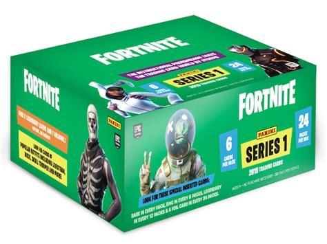 2019 Panini Fortnite Series 1 Checklist, Set Details