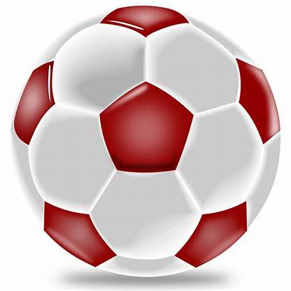 Ball Soccer Clipart Sports Football Realistic Vector