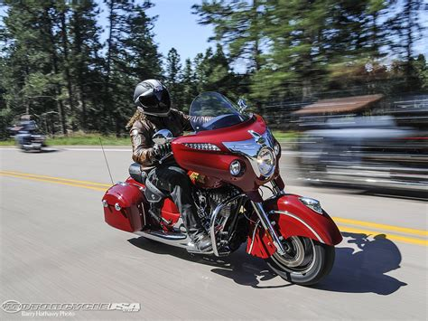 2014 Indian Chieftain First Ride