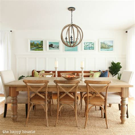 Painting Simply White In The Dining Room & Kitchen  The