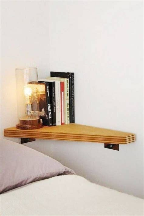 smart storage ideas for tiny bedrooms shelterness 25 smart storage ideas for tiny bedrooms shelterness 25 | 23 tiny wall mounted nightstand