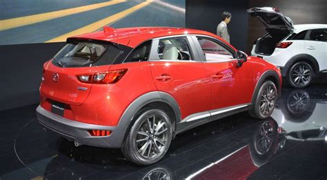 mazda cx 3 motor mazda cx 3 2015 at the 2014 la motor show by car magazine