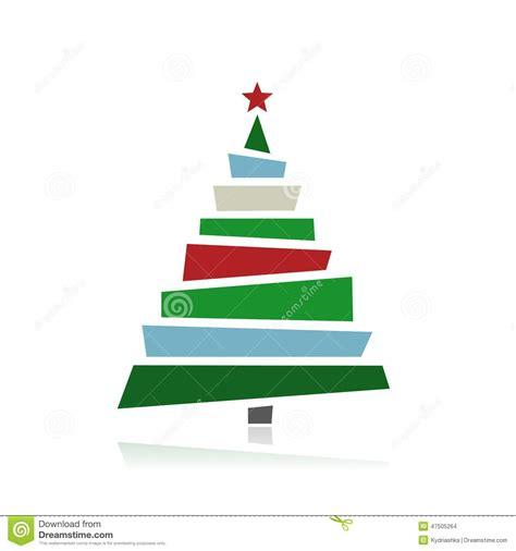 193 rboles de navidad abstractos para su dise 241 o ilustraci 243 n