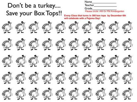 Turkey Template For Box Tops by 25 Best Ideas About Box Tops Contest On Pinterest Box