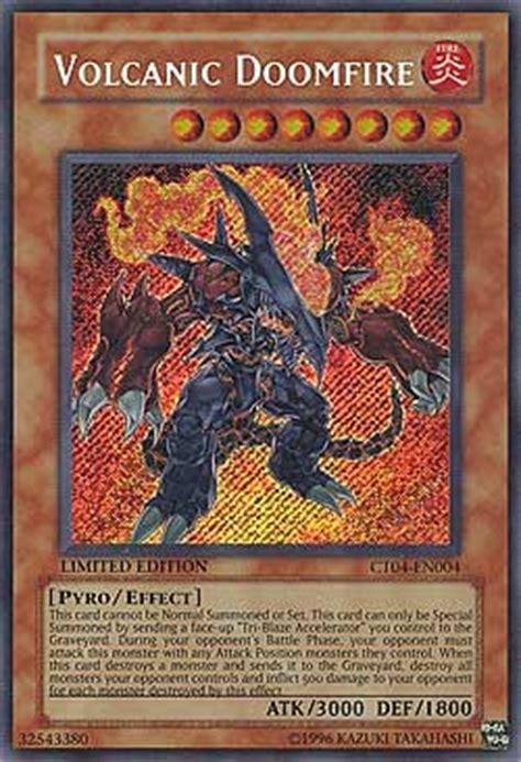 yugioh volcanic deck list yu gi oh einzelkarten promo karten collector s tin serie