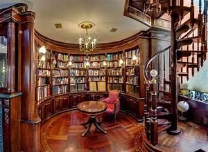 Top, 10, Inspiring, Home, Library, Design, Ideas