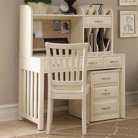 Liberty Furniture Hampton Bay White Home Office Desk White Writing Desk for Warmth Environment