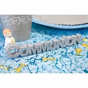 Deco De Table Communion : deco de table communion achat vente pas cher ~ Melissatoandfro.com Idées de Décoration