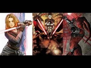 Versus Series: Darth Zannah vs. Asajj Ventress vs ...