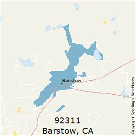 places    barstow zip  california