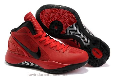 Red Kevin Durant Basketball Shoes By Nike Download Images ...
