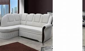 canape d39angle convertible blanc ou beige anector With petit canapé convertible avec tapis shaggy beige