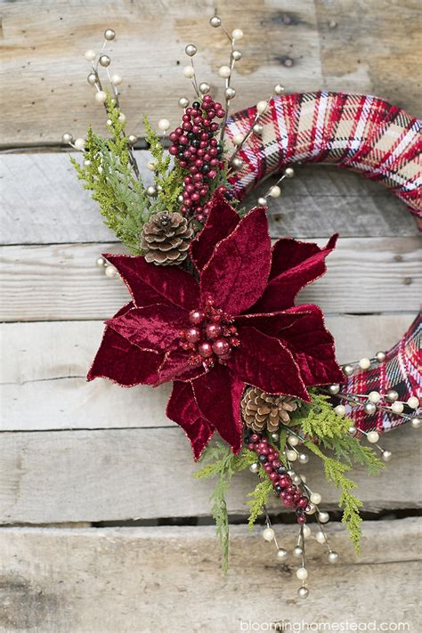 easy diy christmas wreath ideas learn