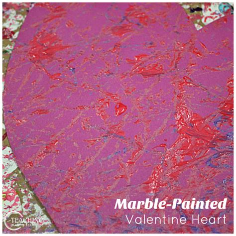 paint  valentines heart  marbles  images