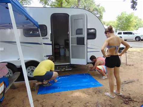 custom  travel trailer volee retrouvee stolen