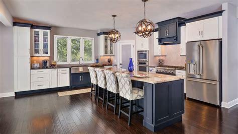 open floor plan kitchen design  cliqstudios
