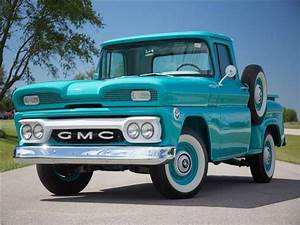 1960 Gmc C10 1313 Miles Teal Blue Pickup Truck 305ci V6 3