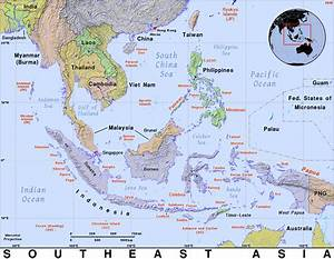Southeast Asia · Public domain maps by PAT, the free, open ...