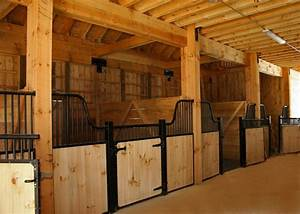 Horse Barn Plans and Requirements for a Proper Shelter ...