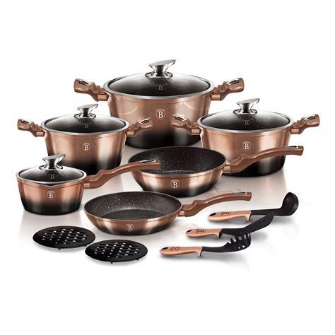 rose cookware berlinger haus line metallic noir piece edition 22nd 12pm ends pdt june touch