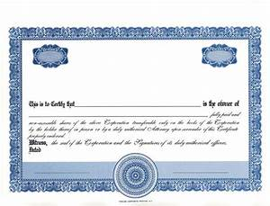 best photos of clear stock certificate border template With blank share certificate template free
