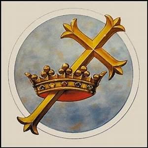 Symbol-Cross and Crown-Craig Gallagher Art Studio