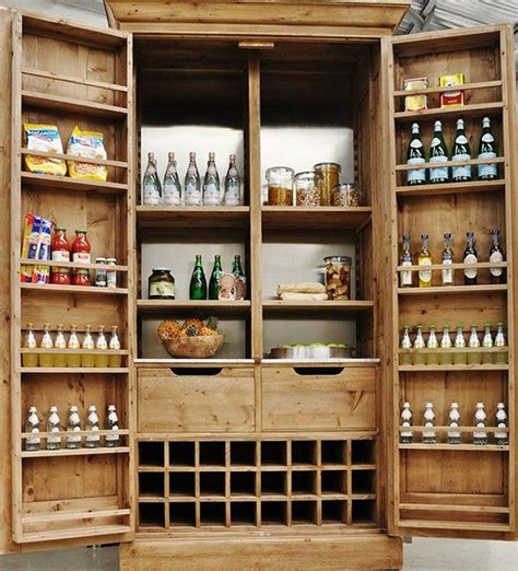 Free Standing Pantry Cabinet by Build A Freestanding Pantry Diy Projects For Everyone