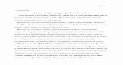 Essay Nuclear Against Writing Power Sample