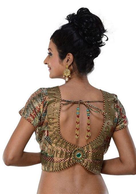Harga Sari Gold designer gold indian sari blouse saree top saree by