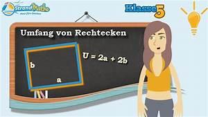 Wie Quadratmeter Berechnen : umfang von rechtecken berechnen klasse 5 wissen youtube ~ Themetempest.com Abrechnung