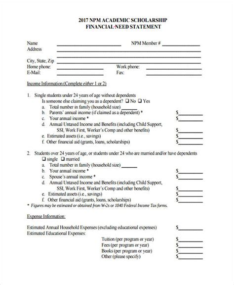 Scholarship Essay Financial Need Essay Writing For School Students
