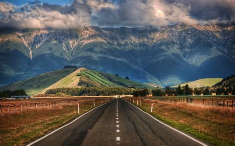 New Zealand Landscape Wallpaper Wallpapersafari