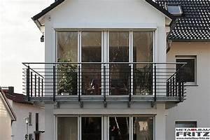 Balkongeländer Pulverbeschichtet Anthrazit : balkongel nder mit edelstahl handlauf 30 03 schlosserei ~ Michelbontemps.com Haus und Dekorationen