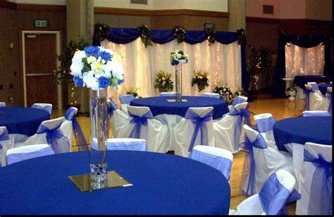 Navy Blue Wedding Centerpieces  Green Weddings