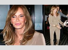 Jaclyn Smith looks youthful during dinner with husband