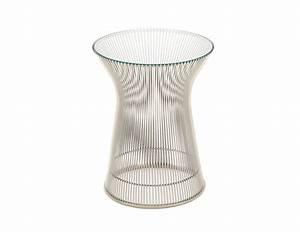 Platner Nickel Side Table