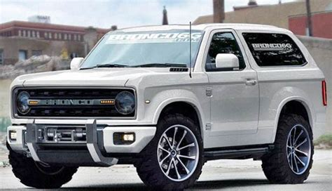ford bronco concept fords redesign