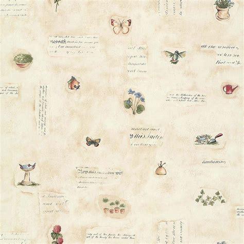 papier peint cuisine papier peint fleurs des chrs beige papier cuisine et