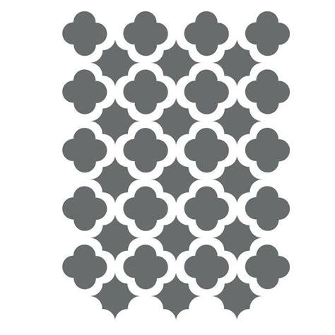 Muster Schablonen by Moroccan Trellis Tile Stencils Template Small Scale For