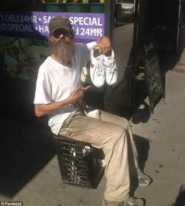 Homeless People Shoes