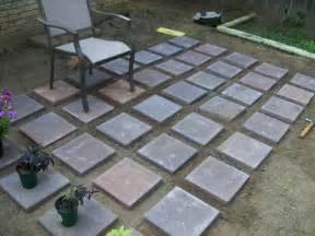 outdoor diy concrete pavers ideas how to build diy