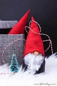 Filz Wichtel Basteln : wichtel basteln ohne n hen s e weihnachtsdeko und geschenkidee sehen pinterest wichtel ~ Pilothousefishingboats.com Haus und Dekorationen