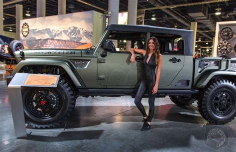 sema awesome  awful    rag top jeeps