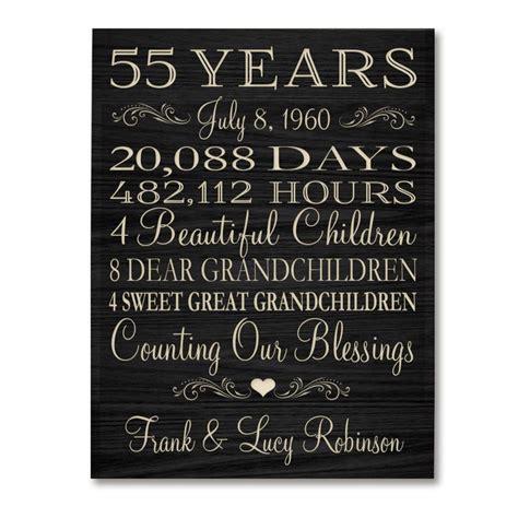personalized  anniversary gift   year wedding