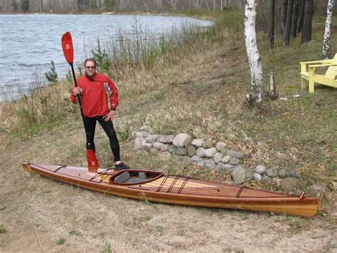 wooden high great auk 17 guillemot kayaks small wooden boat designs