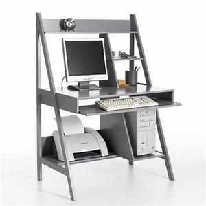 Bureau Informatique Design : bureau informatique meeting ergonomique et compact ce bureau informatique allie rangement et ~ Teatrodelosmanantiales.com Idées de Décoration