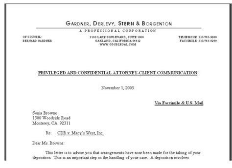 business letter format  law firm sample business letter